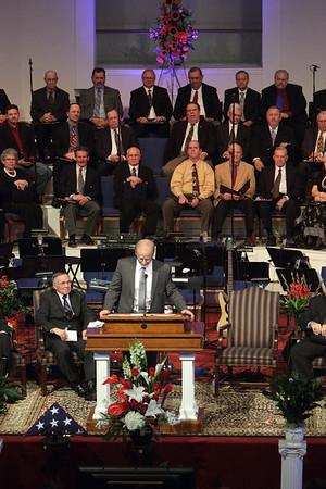 Ray Raulston Funeral